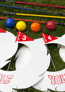 Yolf Set – Standard Set (6 Hole)