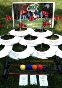 Yolf Set – Professional Set (9 Hole)