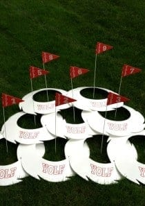 Yolf Holes and Flags