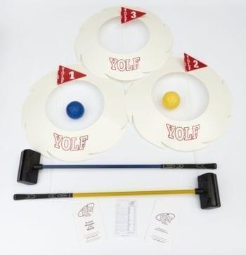 3-hole starter Yolf set