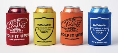 Yolf Can Coolies - set of four